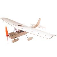New Mini Cessna 182 435mm Wingspan Balsa Wood Laser Cut RC Airplane