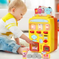 Children Toy Vending Machine Simulation Shopping House Set Groceries