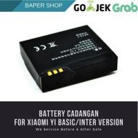 Battery replacement untuk xiaomi yi basic action camera original