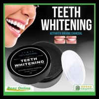 Pemutih Gigi Herbal Arang Charcoal Powder Activated Teeth Whitening