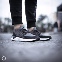 Sepatu Running Casual Ortuseight Radiance Black Grey White Origin