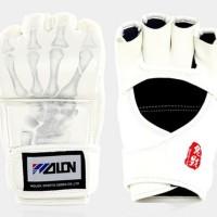 PROMO BESAR Wolon Gloves Muaythai Sarung Tinju MMA PUTIH READY GO