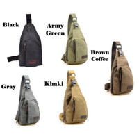 Tas Selempang / Men Sling Shoulder Bag / Bodypack Bag / Tas Army Keren