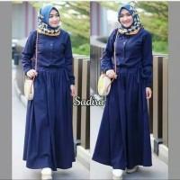 Pakaian Baju Busana Muslim Wanita Dress SADIRA Terbaru Termurah