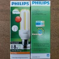 Bohlam Lampu Philips Essential 18 watt Warm White Kuning Hemat Energy