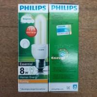 Bohlam Lampu Philips Essential 8 watt Warm White Kuning Hemat Energy