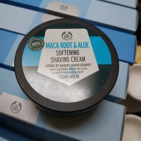 The Body Shop MACA ROOT & ALOE Softening Shaving Cream For Men 200ml