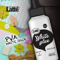 lem putih PVA Latte White Glue 100 ml Slime spt fox stix