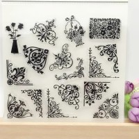 Transparent Silicone rubber Clear Stamp 01-cards, art craft, scrapbook