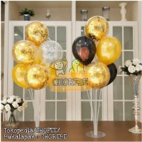 Standing Stick Cup Balloon Decoration / Tiang Dekorasi Balon 7 in 1