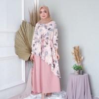 gamis dress muslim wanita FAIZA maxi