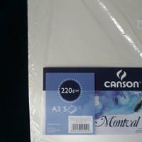 Canson Montval 220 gsm (Canson Aquarelle/Watercolour)