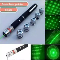 Green Laser Point 5 Mata Laser Hijau