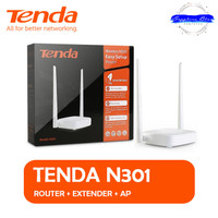 Router TENDA N301 Wireless Router+Extender+Access Point WIFI REPEATER