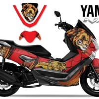 DECAL STICKER MOTOR YAMAHA NMAX LION EDITIONS