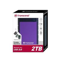 Transcend Storejet 25 M3 / H3 / H3B 2TB - Antishock USB 3.0