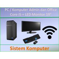 Paket PC Rakitan Core i5 Lengkap Admin / Kantor / Home Office
