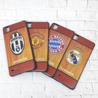 Case Oppo F1 / F1F Football Club Cover Keren Unik Soft Case