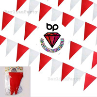 Bendera Merah Putih DIRGAHAYU RI / Bunting flag Merah Putih 17 Agustus