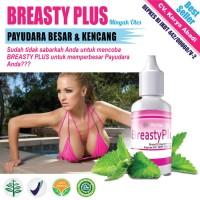 Stok Terbatas Jual Breasty Plus - Obat Oles Herbal Pembesar &