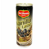 Del Monte Vanilla Latte 240ml Minuman Kopi Rasa Vanila Latte Dengan Ci