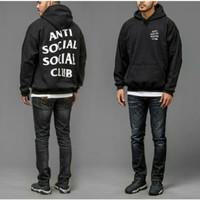 Jaket Hoodie Anti Social Social Club Black Trendy Sweater Assc Distro