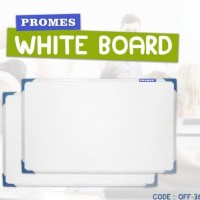 White Board Papan Tulis Kecil Gantung Ukuran 50X30 Cm (Off-36)