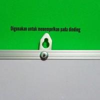 Papan Tulis + Spidol + Penghapus White Board + Magnet Warna