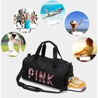 Tas Olahraga Travel / Duffell Bag Blink Manik PINK - WT133