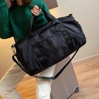 Travel Bag Tas Olahraga Gym Bag Waterproof Dengan Slot Sepatu - WT144