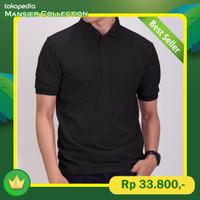 Kaos Polo / Kaos Kerah Dewasa / Polo Pria / Wangky Polos Berkerah - XL