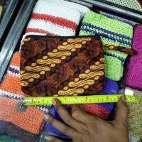 Pouch Batik Besar Dompet Kosmetik 19,5 x 15