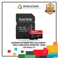 Micro SDHC Sandisk 32Gb U3 V30 EXTREME PRO 100MB/S