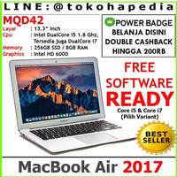 """READY Apple MacBook Air 2017 MQD42 13.3"""" Core i5,8G,256SSD - Silver"""