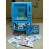 Atm Bank Tobot / Mainan Celengan Anak Bahasa Indonesia