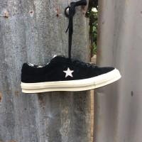Converse One Star Ox Tropical Feet Black White ORIGINAL