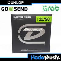 Senar Dunlop Nickel 11-50 Untuk Gitar Elektrik (Original)