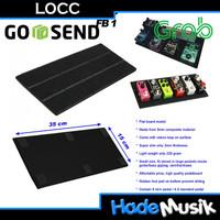 LOCC Flat Board FB1 & Gig Bag Pedalboard GB1 (Bundling)