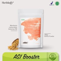 Asi Booster Herbilogy Fenugreek (Biji Klabet) Extract Powder 100g