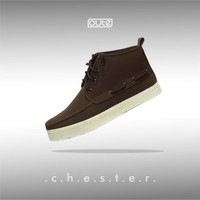 CHESTER BROWN MOCTOE SNEAKERS