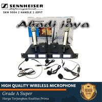 Mic Wireless Sennheiser SKM 9004 Handle ClipOn headset skm9004