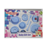 Baby Git Set Tempat makan bayi Feeding Set 9 in 1 Lusty Bunny 1874