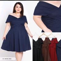 Harvel Sabrina Big Size Mini Dress XXXL