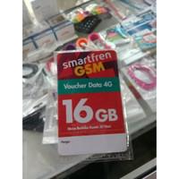 Voucher data 4g SmartFren gsm 16 GB