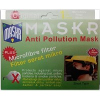 ORIGINAL Masker Micro Fiber MASKR SHORT Pendek Motor Biker No Carbon