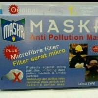 ORIGINAL Masker Micro Fiber MASKR LONG Panjang Motor Biker No Carbon