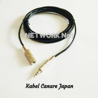 Kabel Audio Canare Jack mini 3.5mm Extension 1.5 Meter High Quality