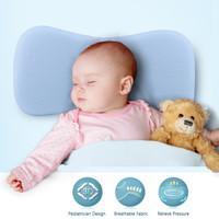 Bantal Kepala Bayi (Wide) Anti Peang Premium Baby Memory Foam Quality - Biru