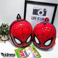 Tas Impor Ransel Sekolah Anak Cangkang Telur Spiderman Lucu Keren