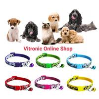 kalung anjing rantai hewan bell kucing dog collar Army